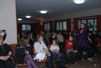 Presentazione del Connubio RizzoMani - Parole in Musica - Francesco Gallina e Donatella Piras - presso la Sala Convegni dell'Istituto Suore Francescane S. Chiara - 24 aprile 2010  - Corleone (3296 clic)