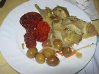 antipasto: pomodori secchi, olive e . . . carciofi - 21 marzo 2010   - Cerda (6839 clic)