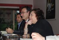 Presentazione del Connubio RizzoMani - Parole in Musica - Francesco Gallina e Donatella Piras - presso la Sala Convegni dell'Istituto Suore Francescane S. Chiara - 24 aprile 2010  - Corleone (3775 clic)