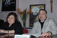 Presentazione del Connubio RizzoMani - Parole in Musica - Francesco Gallina e Donatella Piras - presso la Sala Convegni dell'Istituto Suore Francescane S. Chiara - 24 aprile 2010  - Corleone (3945 clic)