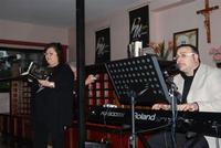 Presentazione del Connubio RizzoMani - Parole in Musica - Francesco Gallina e Donatella Piras - presso la Sala Convegni dell'Istituto Suore Francescane S. Chiara - 24 aprile 2010  - Corleone (3321 clic)