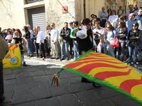 Corteo Barocco - Saluto alla Primavera - sbandieratori - 16 maggio 2010  - Noto (2771 clic)