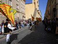 Corteo Barocco - Saluto alla Primavera - sbandieratori - 16 maggio 2010  - Noto (2690 clic)