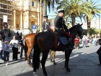 Carabinieri a cavallo - Infiorata 2010 - 16 maggio 2010  - Noto (2765 clic)