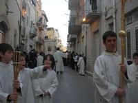 Processione in onore di San Giuseppe, Patrono dei lavoratori - 1 maggio 2010  - Alcamo (2061 clic)