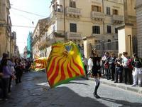 Corteo Barocco - Saluto alla Primavera - sbandieratori - 16 maggio 2010  - Noto (2789 clic)