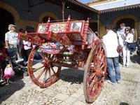 carretto siciliano esposto nel vecchio mercato - 16 maggio 2010  - Noto (2891 clic)
