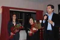 Presentazione del Connubio RizzoMani - Parole in Musica - Francesco Gallina e Donatella Piras - presso la Sala Convegni dell'Istituto Suore Francescane S. Chiara - 24 aprile 2010  - Corleone (3172 clic)