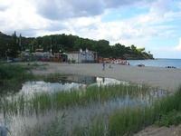 Baia di Guidaloca - riflessi sul fiume - 10 settembre 2010   - Castellammare del golfo (1128 clic)