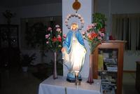 statua dell'Immacolata Concezione nell'ingresso dell'Istituto Suore Francescane S. Chiara - 24 aprile 2010  - Corleone (7489 clic)