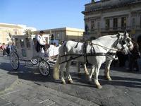 Corteo Barocco - Saluto alla Primavera e Palazzo Ducezio, sede del Municipio - 16 maggio 2010  - Noto (2683 clic)