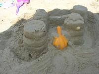 castelli di sabbia - zona Plaja - 7 luglio 2010  - Alcamo marina (2376 clic)