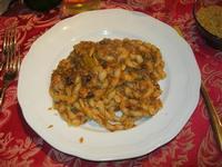 busiate con finocchi e sarde - La Cambusa - 28 novembre 2010  - Castellammare del golfo (1637 clic)