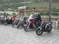 Via Don L. Zangara - 2° MOTORADUNO CITTA' DI CARINI - sosta al Bar Vogue - 28 novembre 2010  - Castellammare del golfo (1423 clic)