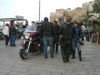 Via Don L. Zangara - 2° MOTORADUNO CITTA' DI CARINI - sosta al Bar Vogue - 28 novembre 2010  - Castellammare del golfo (1443 clic)