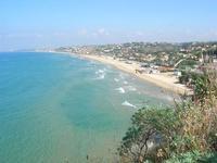 panorama Golfo di Castellammare e Spiaggia Plaja dalla periferia est della città - 7 ottobre 2010  - Castellammare del golfo (1254 clic)