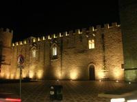Castello dei Conti di Modica - lato nord - 14 novembre 2010 ALCAMO LIDIA NAVARRA