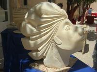 Cortile ex Collegio dei Gesuiti - mostra quadri e sculture - 16 maggio 2010  - Noto (2678 clic)