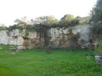 Cave di Cusa - zona archeologica - 28 febbraio 2010   - Cave di cusa (5175 clic)