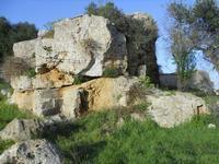 Cave di Cusa - zona archeologica - 28 febbraio 2010   - Cave di cusa (4601 clic)