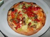 mini pizza vegetariana - Busith - 28 agosto 2010  - Buseto palizzolo (2995 clic)
