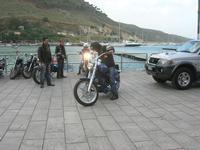 Via Don L. Zangara - 2° MOTORADUNO CITTA' DI CARINI - sosta al Bar Vogue - 28 novembre 2010  - Castellammare del golfo (1399 clic)