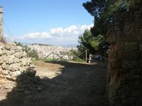 panorama della città dal Castello Eufemio - 11 aprile 2010   - Calatafimi segesta (2630 clic)