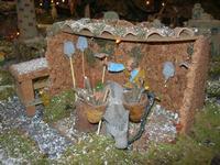 Collegio dei Gesuiti - Presepe storico - particolare - 6 gennaio 2010  - Alcamo (2068 clic)
