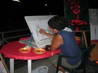ROSSO DISTRATTO - Festival degli Artisti a cura del Gruppo Archeologico Xaipe - Piazza dei Martiri d'Ungheria - 12 agosto 2010  - Salemi (1464 clic)