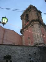 il campanile della Chiesa di San Giuliano - 1 gennaio 2011  - Erice (1176 clic)