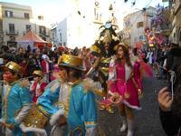 111ª edizione del Carnevale di Sciacca - sfilata corteo mascherato e dei gruppi dei carri allegorici - 6 marzo 2011  - Sciacca (1706 clic)