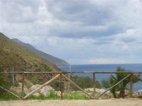 panorama costa e mare - 9 ottobre 2011  - Riserva dello zingaro (662 clic)
