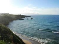 Spiaggia La Praiola - costa e faraglioni - 2 novembre 2010 TERRASINI LIDIA NAVARRA