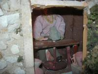 Presepe Monumentale Artistico Meccanico, in stile settecento siciliano, realizzato nell'antico cortile di Piazzetta San Domenico - 1 gennaio 2011  - Erice (1181 clic)