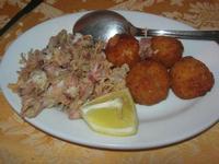 moscardini fritti e arancine di pesce - La Caravella - 16 gennaio 2010   - Alcamo marina (7110 clic)