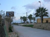 imbarcadero per l'Isola di Mozia - strada - 7 novembre 2010  - Marsala (1242 clic)