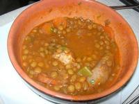 zuppa di lenticchie con salsiccia - Busith - 27 febbraio 2011  - Buseto palizzolo (1388 clic)