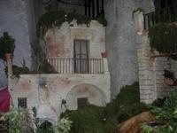 Presepe Monumentale Artistico Meccanico, in stile settecento siciliano, realizzato nell'antico cortile di Piazzetta San Domenico - 1 gennaio 2011  - Erice (1171 clic)