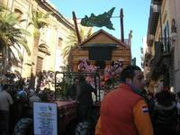 111ª edizione del Carnevale di Sciacca - sfilata corteo mascherato e dei gruppi dei carri allegorici - 6 marzo 2011  - Sciacca (1386 clic)