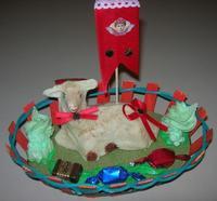 agnello pasquale realizzato con pasta di mandorle - 17 marzo 2010  - Alcamo (7058 clic)