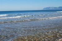 Golfo di Castellammare - Spiaggia Plaja - 7 gennaio 2010  - Castellammare del golfo (1935 clic)