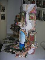 GARIBALDI TALL SHIPS REGATTA - artigianato locale: tegola decorata - 16 aprile 2010   - Trapani (4829 clic)