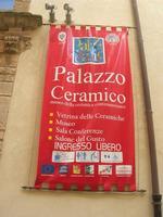 Palazzo Ceramico - locandina - 4 dicembre 2010 CALTAGIRONE LIDIA NAVARRA