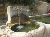 la fontana nella piazzetta - 15 febbraio 2010   - Scopello (2302 clic)