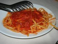 primo: maccheroni al sugo di cinghiale - Fattoria Manostalla Villa Chiarelli - 16 gennaio 2011  - Partinico (2949 clic)
