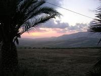 panorama al crepuscolo - Baglio Strafalcello - 22 giugno 2010  - Castellammare del golfo (1237 clic)