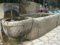 la fontana nella piazzetta - 15 febbraio 2010   - Scopello (2395 clic)