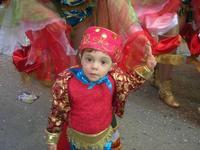 111ª edizione del Carnevale di Sciacca - sfilata corteo mascherato e dei gruppi dei carri allegorici - 6 marzo 2011  - Sciacca (1412 clic)