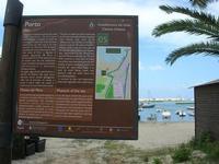 Porto - cartello turistico - 25 luglio 2010  - Castellammare del golfo (1144 clic)