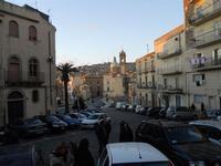 panorama della città dal piazzale S. Francesco - 4 dicembre 2010  CALTAGIRONE LIDIA NAVARRA